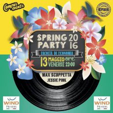 Il Master allo Spring Party 2016 dell'Università di Roma Tor Vergata